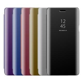 Samsung Galaxy Note 9 The Transparent Metallic Mirror Flip Case