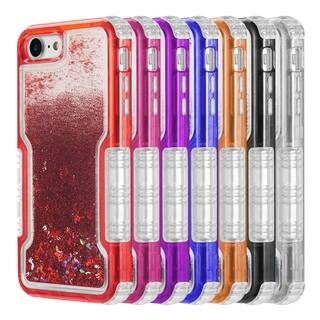 IPHONE 8 / 7 / 6 Military Grade Dual Protective Waterfall Liquid Sparkling Case