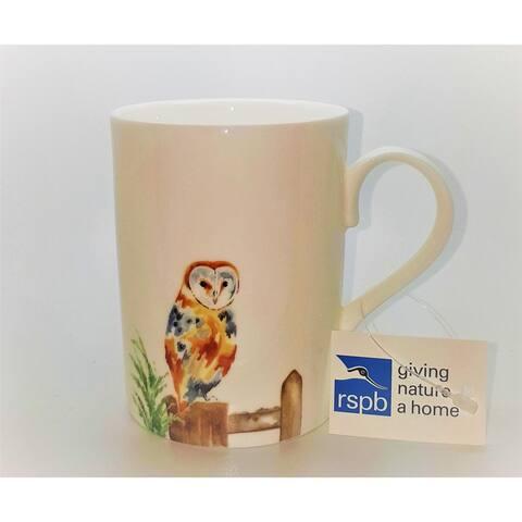 Roy Kirkham Mugs (Set of 6) - Owl, Lucy Shape