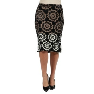 24/7 Comfort Apparel Plus Skirt