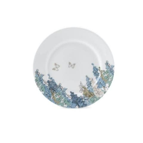 Roy Kirkham Fairfield Blue Tea Plates (20 cm) - Set of 6