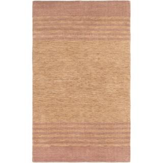 ECARPETGALLERY  Hand-knotted Luribaft Gabbeh Riz Tan Wool Rug - 5'0 x 8'0