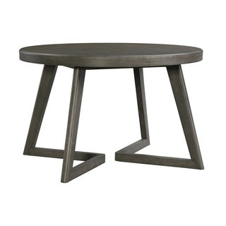 Picket House Furnishings Hudson Round Dining Table - Grey/N/A