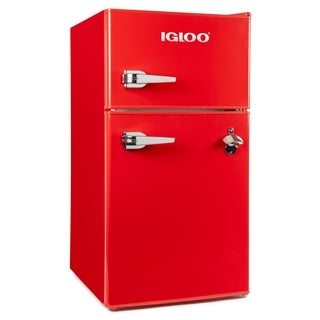 Igloo IRF32DDRSRD 3.2 Cu Ft Classic Double Door Red