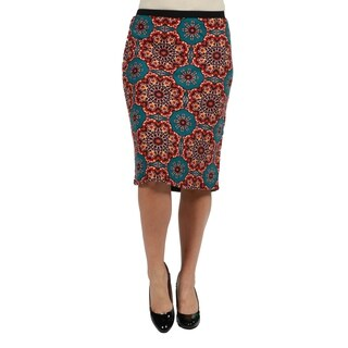 24/7 Comfort Apparel Plus Size Skirt