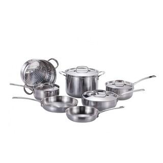 Momscook Pro Tri-Ply Clad 11-Piece Cookware Set