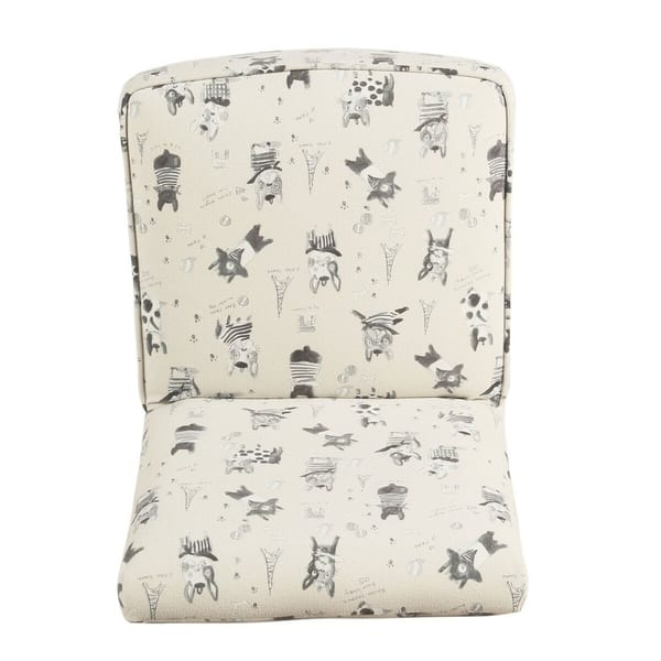 Astonishing Shop Homepop Kids Modern Slipper Chair Stain Resistant Creativecarmelina Interior Chair Design Creativecarmelinacom