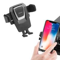 INSTEN Universal One-Touch Air Vent Car Mount Stand with 360-degree Rotation for iPhone X Galaxy S9 S8 Note 9
