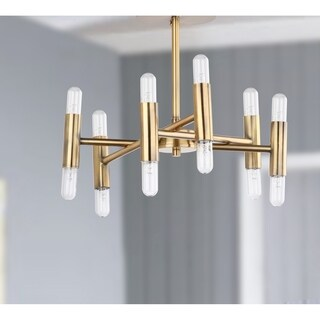 "Safavieh Lighting Fidelma Flush Mount - Gold - 16"" x 16"" x 13"""