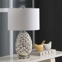 "Safavieh Lighting Lilou Table Lamp 25 Inch - Silver - 15"" x 15"" x 25"""
