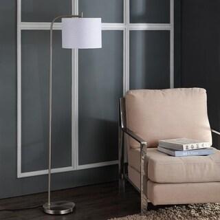 "Safavieh Lighting Rafin 61.5 Inch Floor Lamp - Silver - 17"" x 12"" x 61.5"""