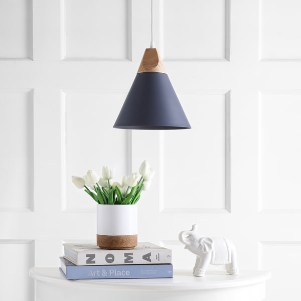 Safavieh Lighting Cila Adjustable 1-light LED Grey Pendant