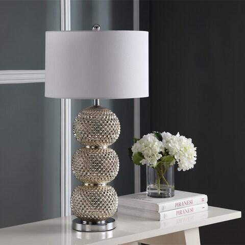 "Safavieh Lighting Darcia Table Lamp 31 Inch - Silver - 16"" x 16"" x 31"""
