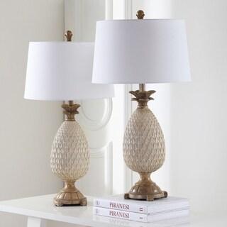"Safavieh Lighting Briar Table Lamp 30.5 Inch - Creme - 16"" x 16"" x 30.5"""