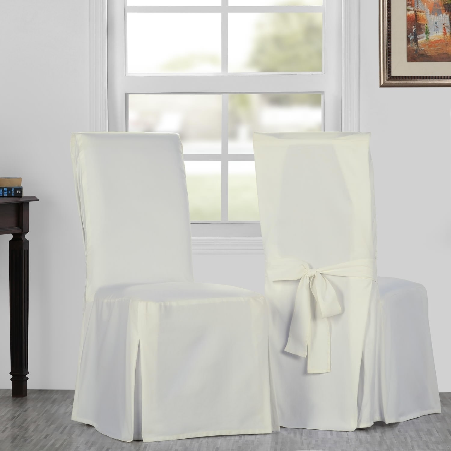 Astounding Details About Exclusive Fabrics Solid Cotton Twill Chair Covers Sold As Pabps2019 Chair Design Images Pabps2019Com