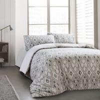 Tula 3pc Cotton Duvet Cover Set