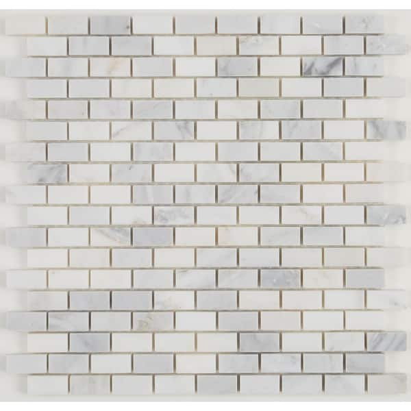 Natural Stone Tile Mosaic Linear Random