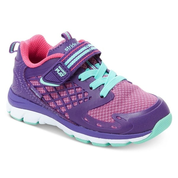 c3d9f74f228d Shop Stride Rite Cannan Made2play Girls Sneakers Purple - Free Shipping On  Orders Over  45 - Overstock - 23615499