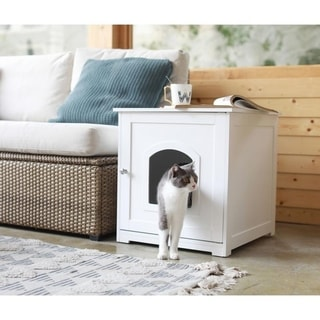 Link to Kitty Litter Loo Similar Items in Cat Furniture