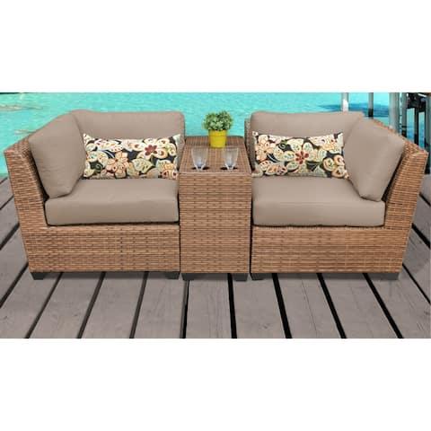 Laguna 3 Piece Outdoor Wicker Patio Furniture Set 03b