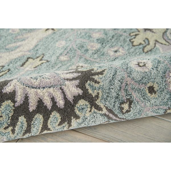 Nourison Jazmine Hand Tufted Vintage Traditional Area Rug Overstock 23619989