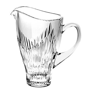 Majestic Gifts High Quality Cut Crystal Pitcher - 36 oz.- Made in Europe