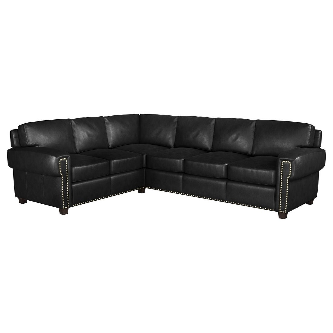 Incredible Made To Order Como 100 Top Grain Leather Sectional Pabps2019 Chair Design Images Pabps2019Com
