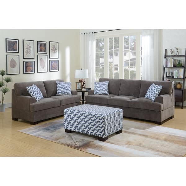 Martina 3 Piece Sofa And Loveseat Combo
