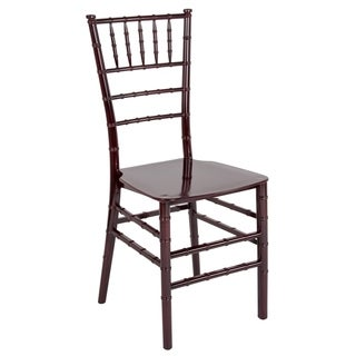 "Stackable Resin Chiavari Chair - Banquet and Event Furniture - 15""W x 18.75""D x 35""H"
