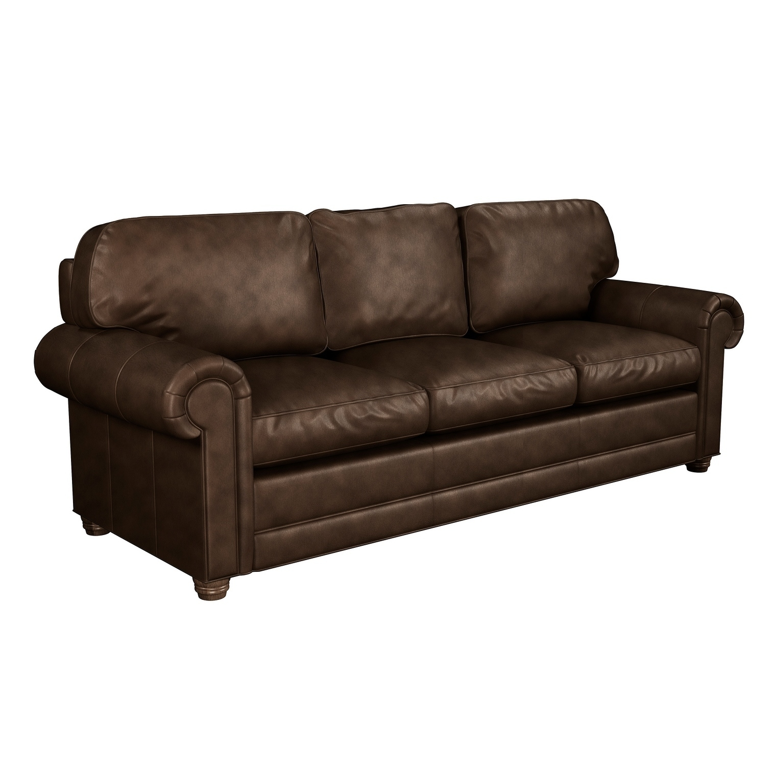 - Shop Made To Order Lansdown 100% Top Grain Leather Queen Sleeper