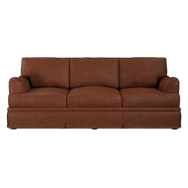 Grain Leather Sofa: Shop Made To Order Regent 100% Top Grain Leather Sofa
