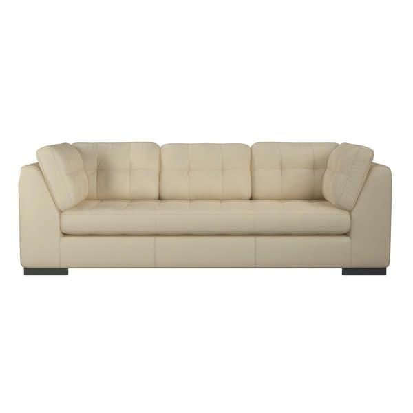 Shop Made To Order Laguna 100% Top Grain Leather Sofa