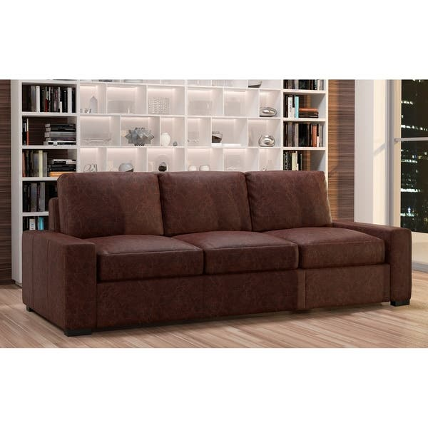 Tremendous Shop Made To Order Monza 100 Top Grain Leather Sofa On Gamerscity Chair Design For Home Gamerscityorg