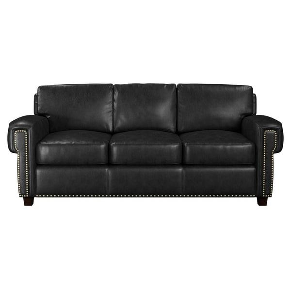 Shop Made To Order Como 100% Top Grain Leather Sofa