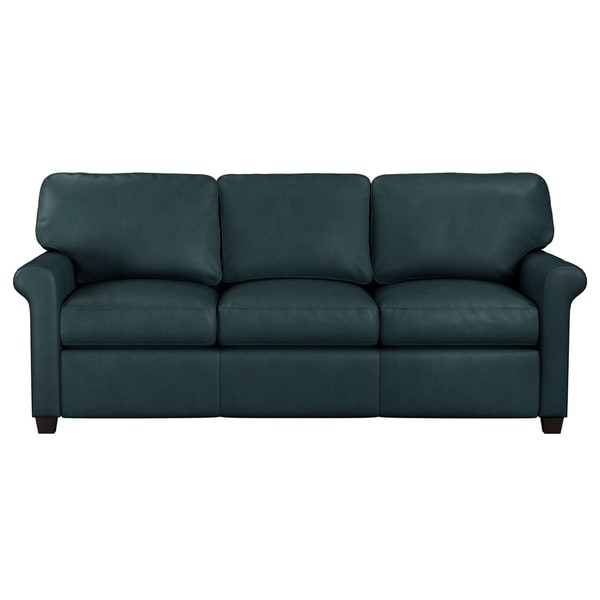 Best Genuine Leather Sectional Sofa: Shop Made To Order Asti Genuine Top Grain Leather Sofa