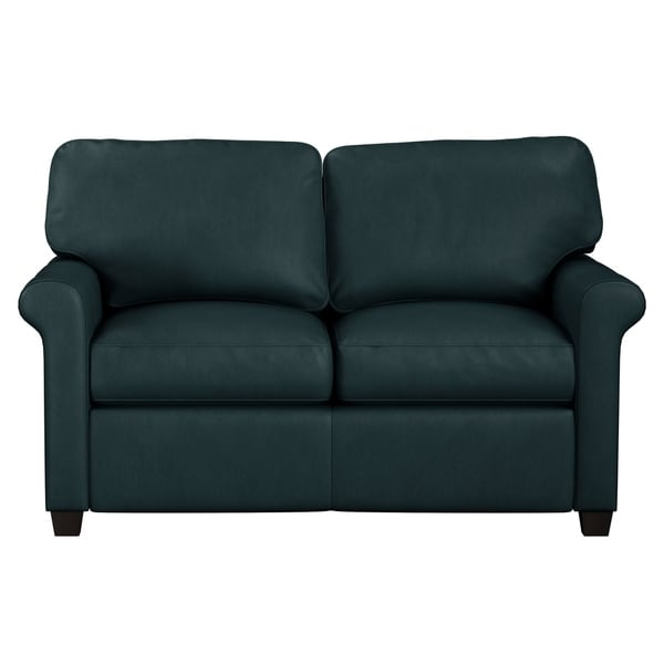 Shop Made to Order Asti Genuine Top Grain Leather Twin Sleeper Sofa ...