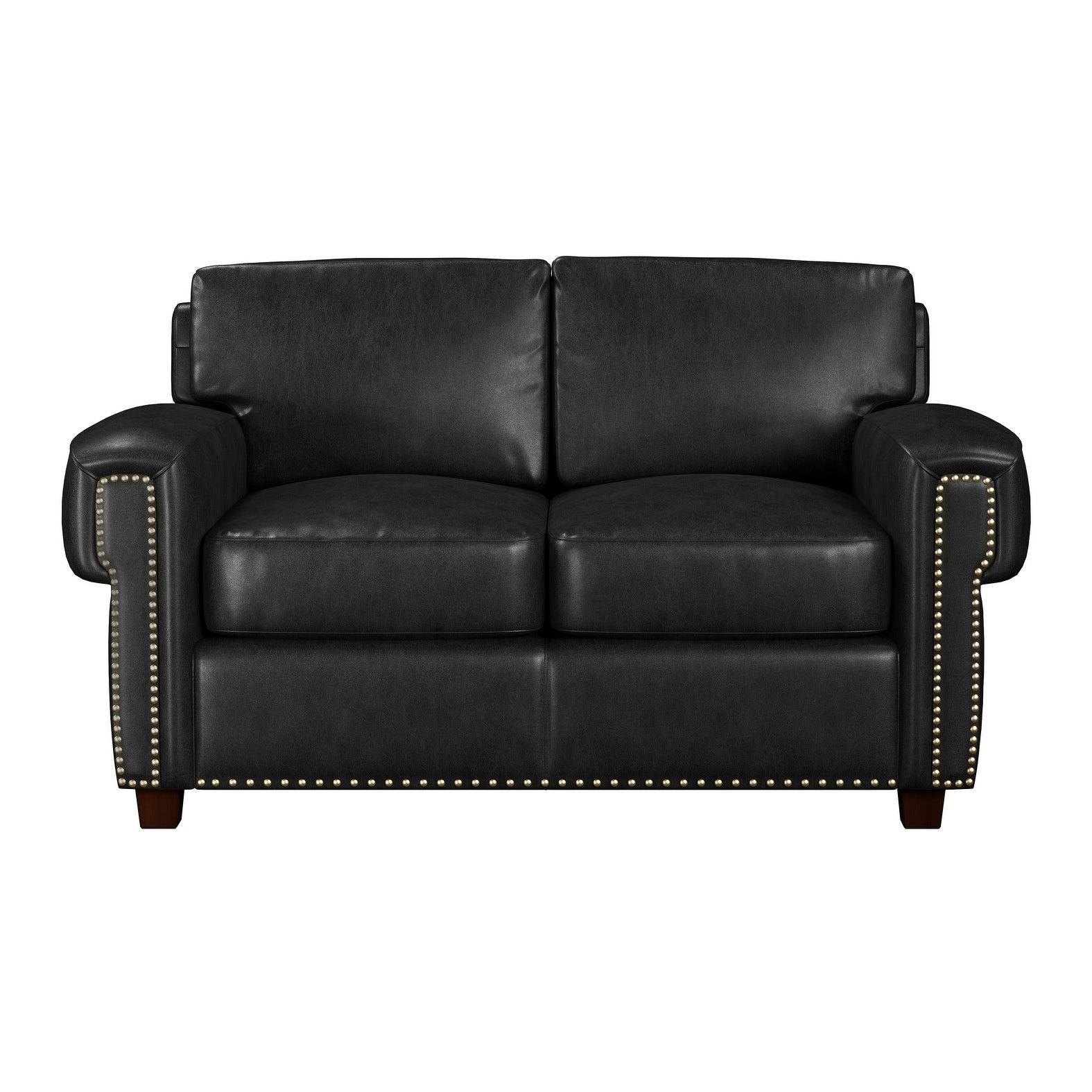 - Shop Made To Order Como 100% Top Grain Leather Twin Sleeper Sofa