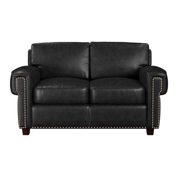 Made To Order Como 100 Top Grain Leather Twin Sleeper Sofa
