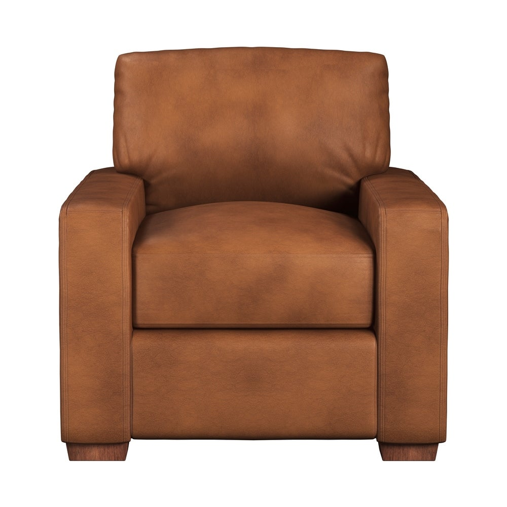 Made to Order Maxim 100% Top Grain Leather Chair. Opens flyout.