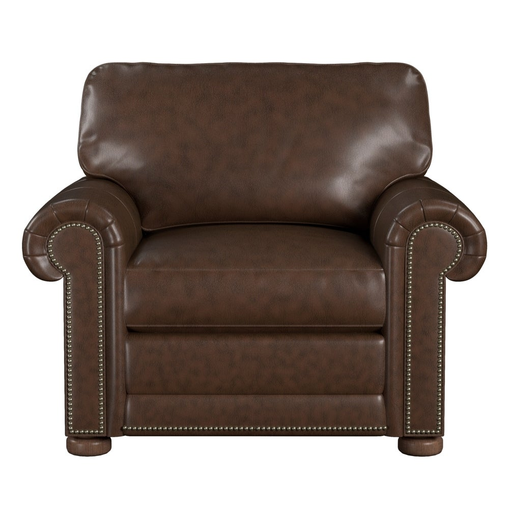 Made to Order Mondial 100% Top Grain Leather Chair. Opens flyout.