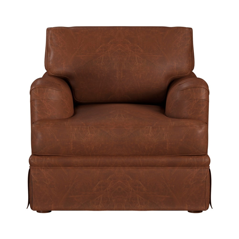 Made to Order Regent 100% Top Grain Leather Chair. Opens flyout.