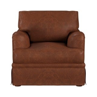 Link to Made to Order Regent 100% Top Grain Leather Chair Similar Items in Living Room Chairs