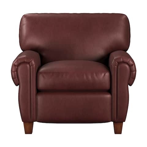 Made to Order Roma 100% Top Grain Leather Chair