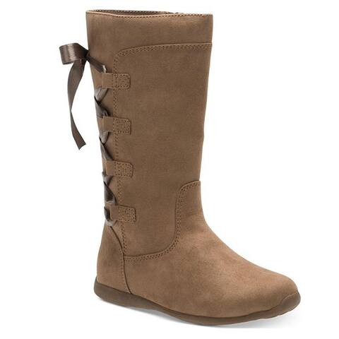 Stride Rite Greta Girls Boots Brown