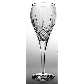 Majestic Gifts European Quality  Cut Crystal Wine Goblets-8.75 oz. -Set/6 - Made in Europe