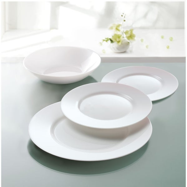 Luminarc 12 Piece Everyday Dinnerware Set - 12 piece set. Opens flyout.