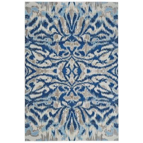 "Grand Bazaar Carini Blue Haze Rug - 6'7"" x 9'6"""