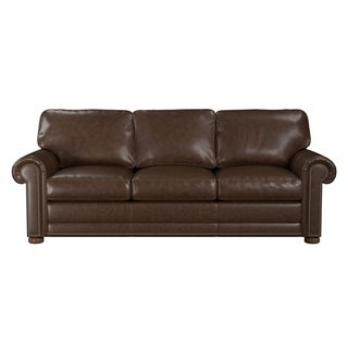 Made to Order Mondial 100% Top Grain Leather Queen Sleeper