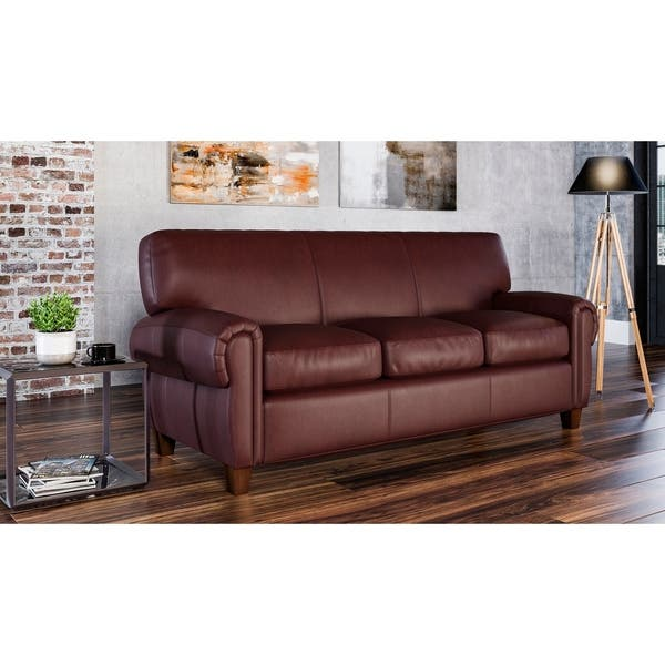 Tremendous Shop Made To Order Roma 100 Top Grain Leather Sofa On Gamerscity Chair Design For Home Gamerscityorg