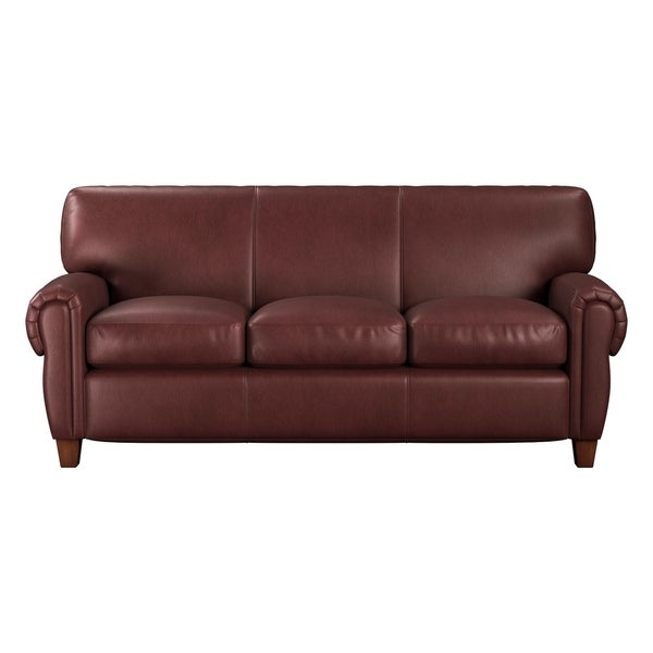 Roma Leather Sofa: Shop Made To Order Roma 100% Top Grain Leather Sofa